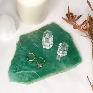 Gift, decor and crystal shop Australia: Aventurine crystal A grade polished slab