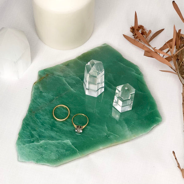 Australian gift, crystal, decor online shop: Aventurine crystal A grade polished slab