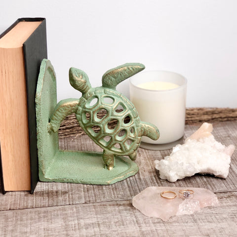 Sea turtle bookend