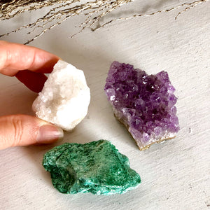 Gift, decor and crystal shop Australia: Trio of crystals - gift for protection + renewal