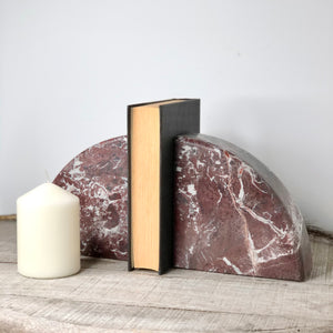 Gift, decor and crystal shop Australia: Onyx crystal bookend pair burgundy XL