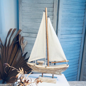 Gift, decor and crystal shop Australia: Sailing boat statue // PREORDER