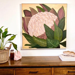 In bloom original framed artwork