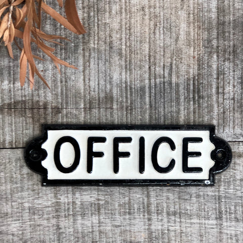 Office door sign