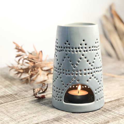 Marrakesh oil burner tea light candle holder