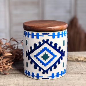 Gift, decor and crystal shop Australia: South West clay storage jar
