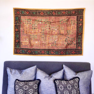 Gift, decor and crystal shop Australia: Indian embroidered tapestry B