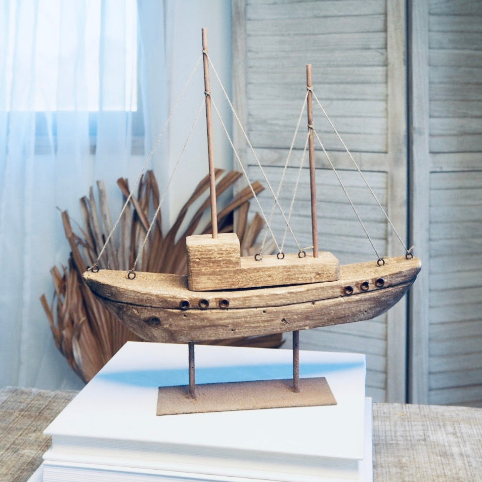 Gift, decor and crystal shop Australia: Sailing ketch boat statue