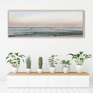 Gift, decor and crystal shop Australia: Sunrise on the coast framed artwork