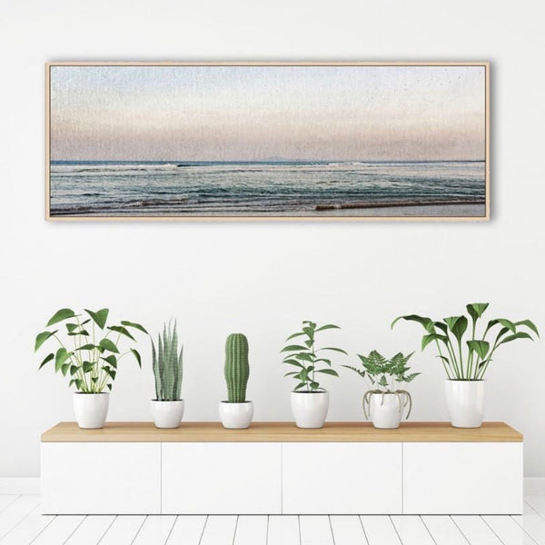 Australian gift, crystal, decor online shop: Sunrise on the coast framed artwork