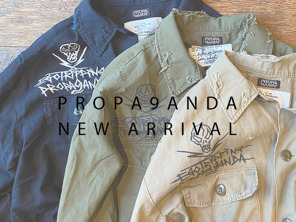 PROPA9ANDA×EGO TRIPPING NEW ARRIVAL