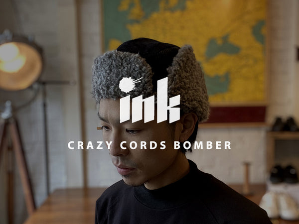 ink / CRAZY CORDS BOMBER
