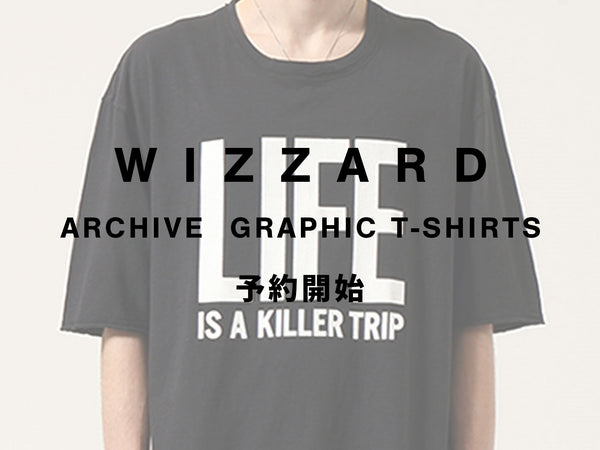 Wizzard ARCHIVE GRAPHIC T-SHIRTS