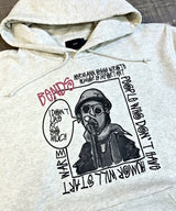 9.7oz hooded sweatshirt-T THE TIMERS