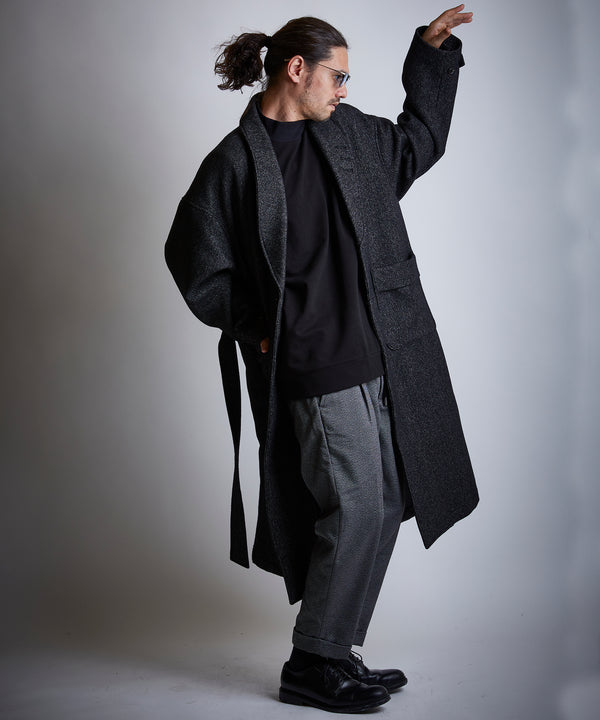 再入荷 ROBE COAT Tweedriver