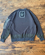 MIXTURE CASUALS SWEAT -crushed-