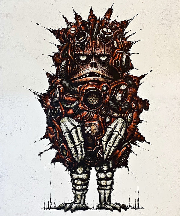 CYBERNETICS GARAMON POSTER EDITION GICLEE ART