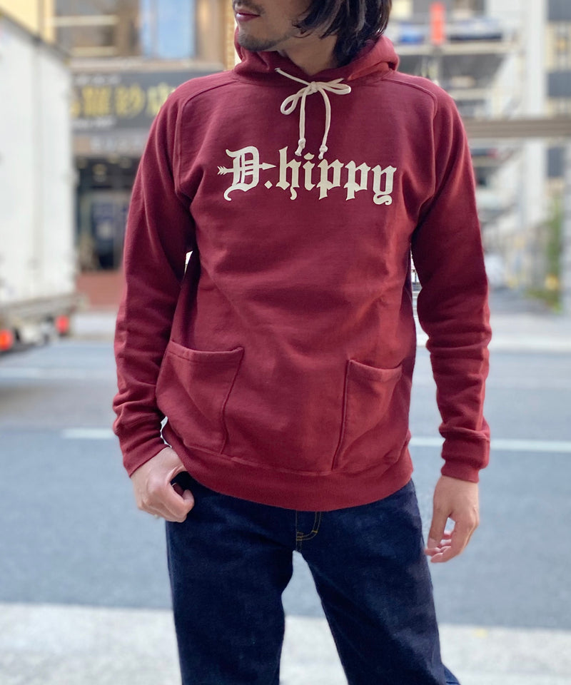 D.HIPPY HOODED SWEAT-BU