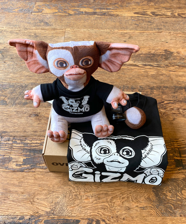 PLUSH DOLL GIZMO&TEE BOX SET-black