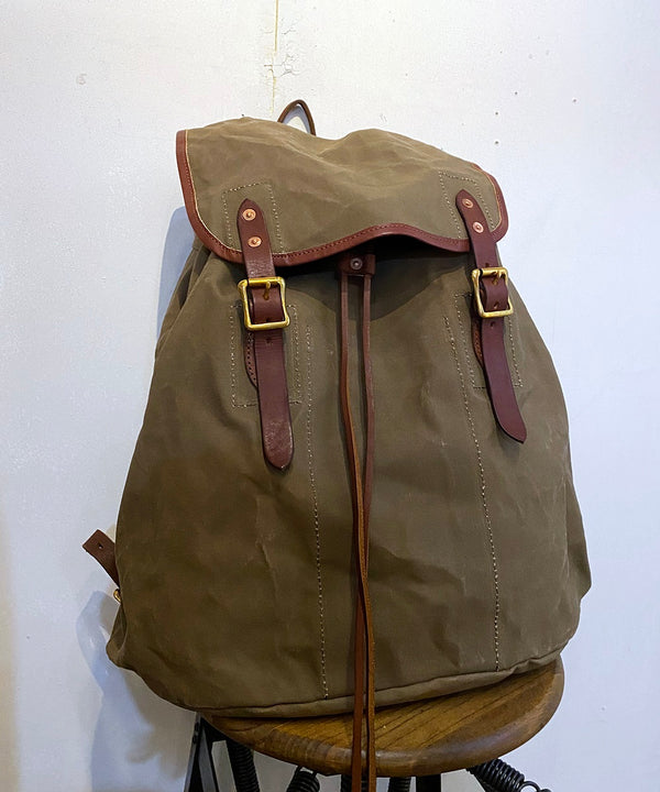 CANVAS×LEATHER ARMY RUCKSACK TYPE3
