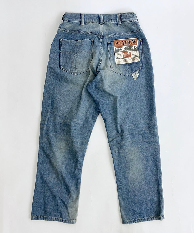 NERD DENIM 10oz used