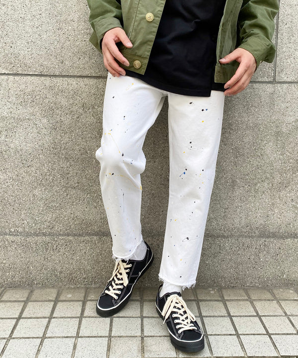 REMAKE DENIM PANTS-001