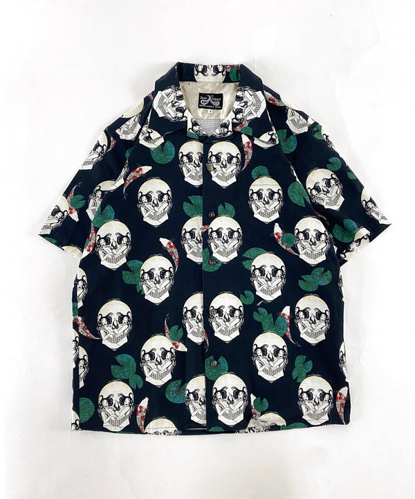 FACE TWO SKULL S/S SHIRT
