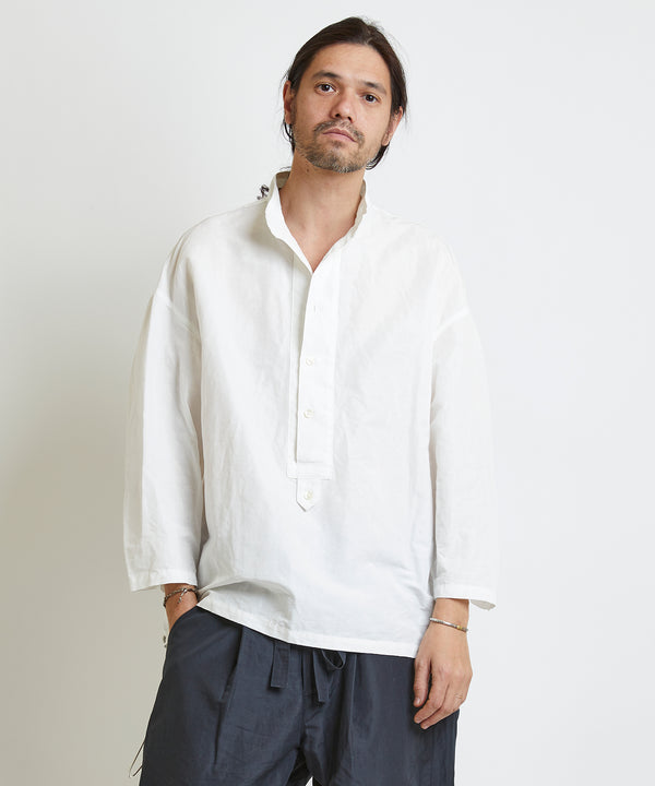 【予約商品】WIDE PLACKET SHIRTS
