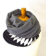 REVERSIBLE LONG SNOOD