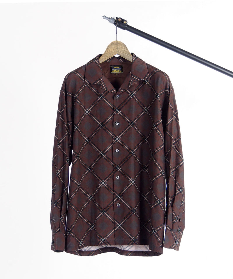 RHOMBUS PATTERNED SHIRTS