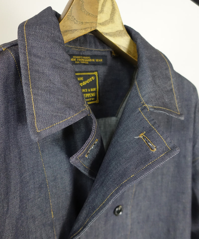 【予約商品】50' DOUBLE BUTTON SHOPCOAT denim
