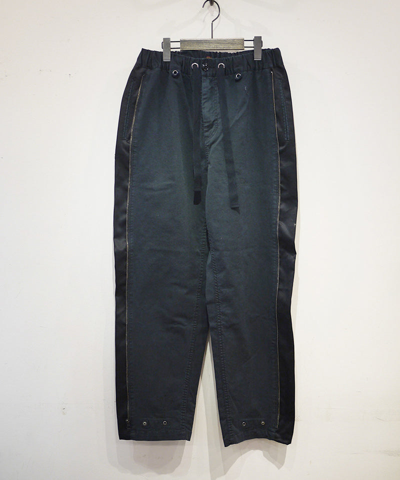 FAKE LINE ZIP TROUSERS