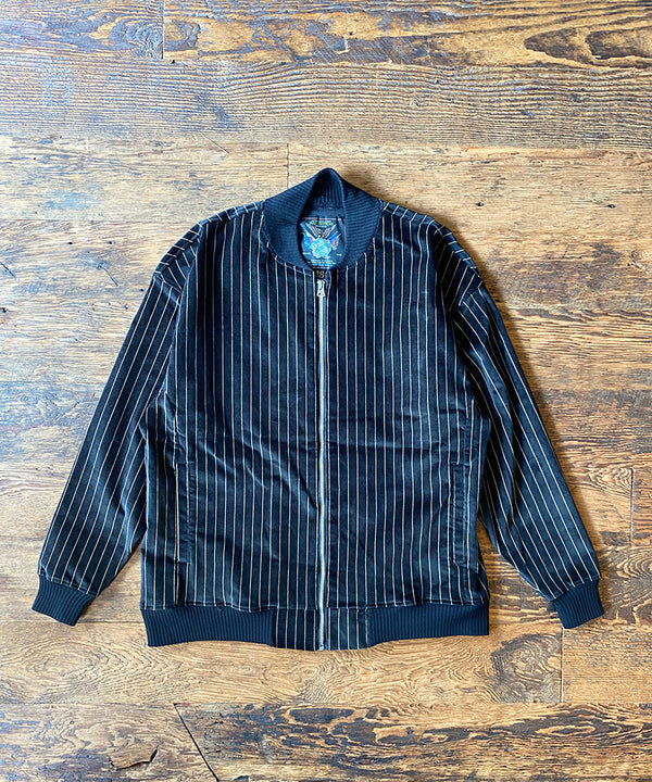 VELVET STRIPE SPORTS-JACKET