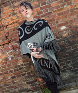 UNION KNIT CAPE