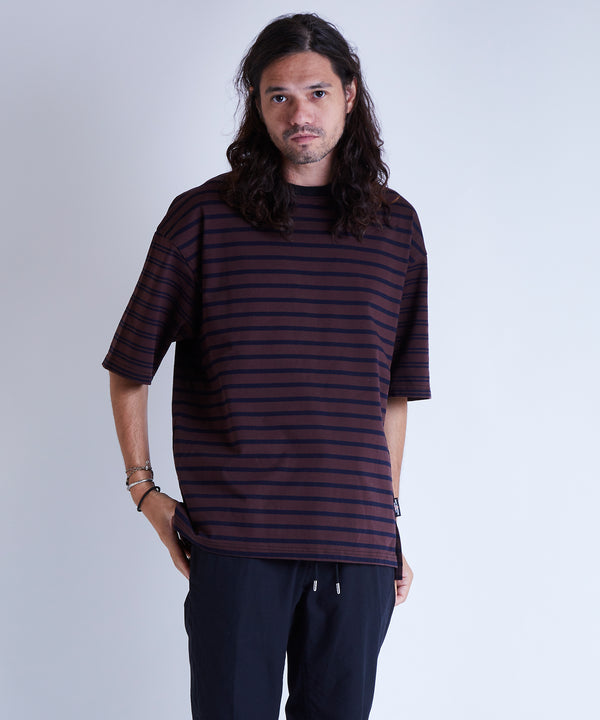 MIX BORDER TEE