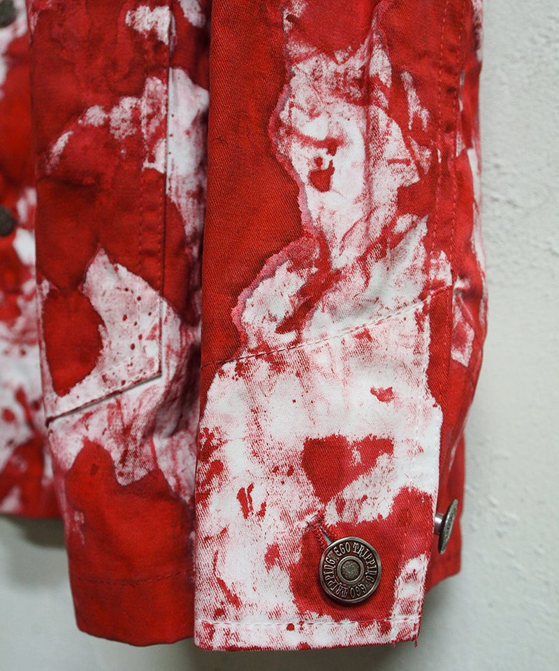 CAMOUFLAGE DYED COVERALL