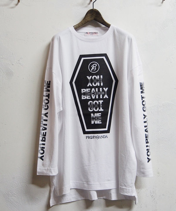 KINKS COFFINE BIG L/S TEE