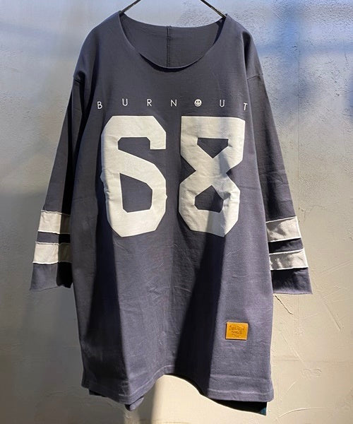 4/3 SLEEVE FOOTBALL Tee
