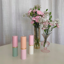 Load image into Gallery viewer, Pastel Pillar Candle