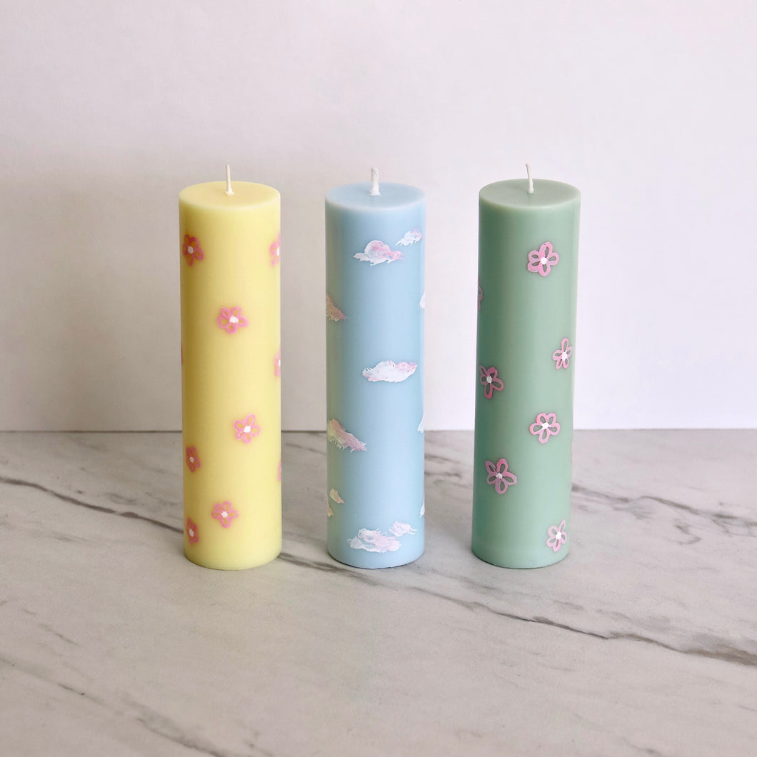 Hand-painted Candles
