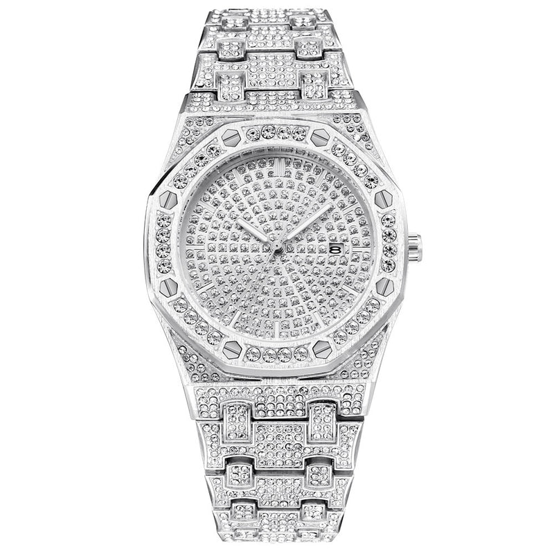 AP Iced Out Lookalike Watch