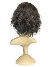 "Load image into Gallery viewer, GREY-HEADED WAVY - 10/12"" WIG"