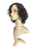 "GREY-HEADED WAVY - 10/12"" WIG"
