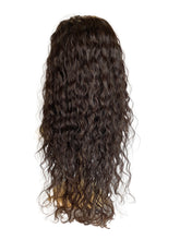 "Load image into Gallery viewer, LACE FRONT BLACK (1) WAVY - 18"" WIG"