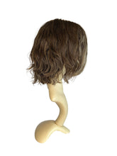 "Load image into Gallery viewer, GREY-HEADED BROWNISH WAVY - 10/12"" WIG"