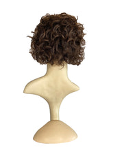 "Load image into Gallery viewer, DARK BROWN WAVY (3) - 6/8"" WIG"