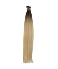 Load image into Gallery viewer, BLOND W/ BLACK ROOTS - KERATIN I-TIP