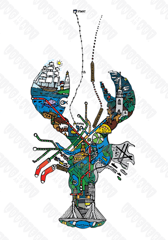 """Boston Lobster"" - Lobstering Is An Art"