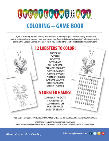 Coloring + Game Book