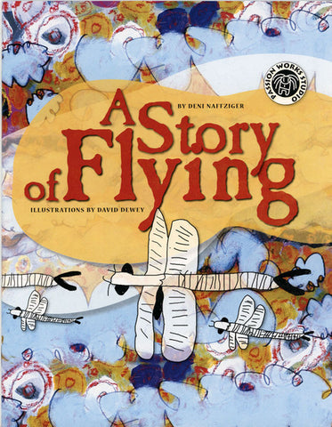 Story of Flying Coloring Book